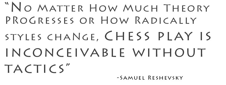 One Basic Tool for Success in Chess, Money, and Life